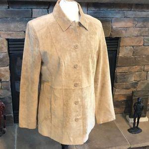 Sonoma women's leather jacket size M
